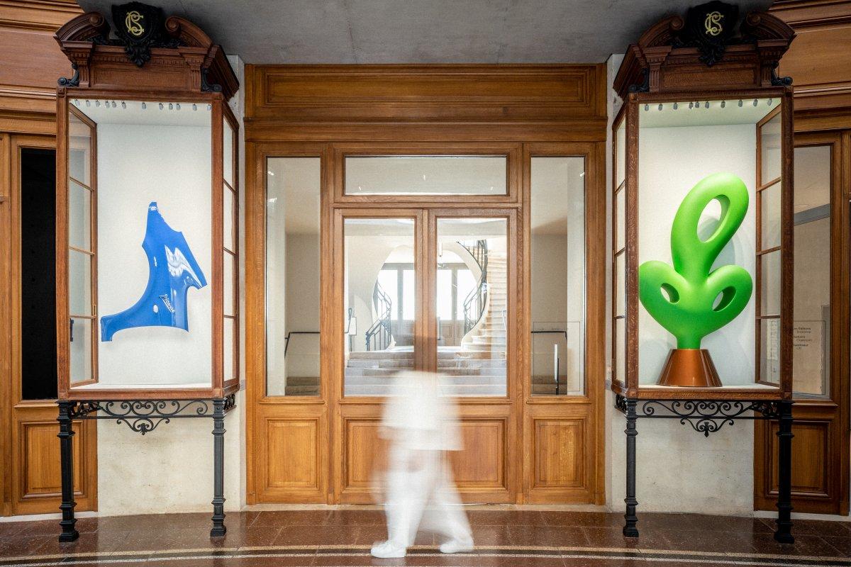 Bourse Museum Paris. Bertrand Lavier, Walt Disney Productions n° 6, 2018.